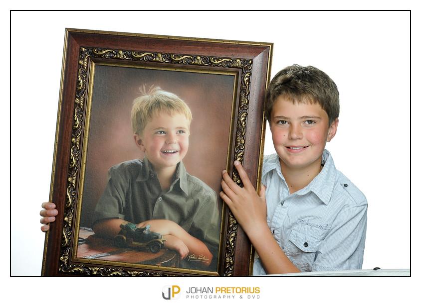 Laat jou kinders gereeld fotografeer