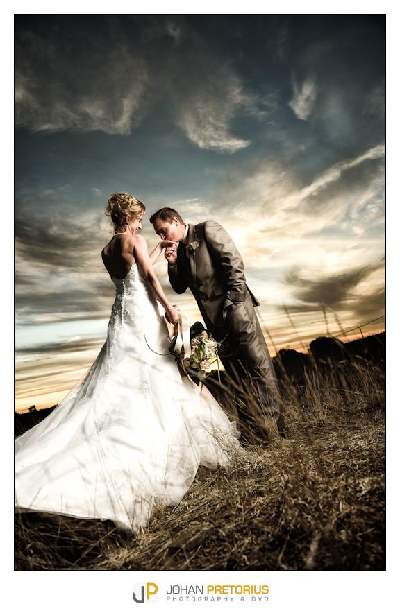 The wedding of Anelize en Robert