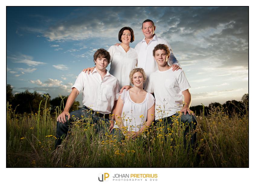 Van Tonder Family on location
