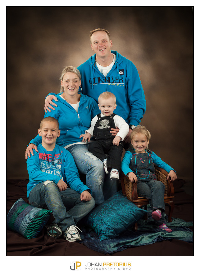 Studio shoot-Delport family