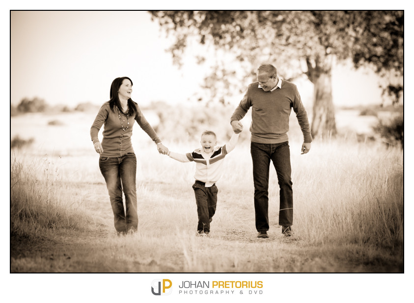 Du Toit family shoot on location
