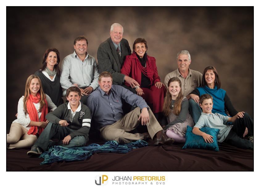 De Jager studio family session