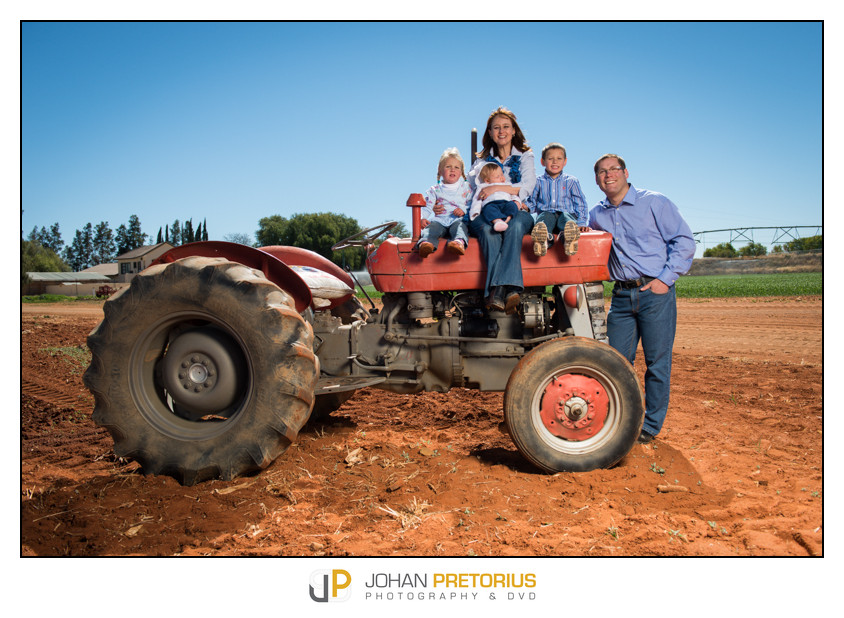 Wouter & Stefanie Schutte Family on location