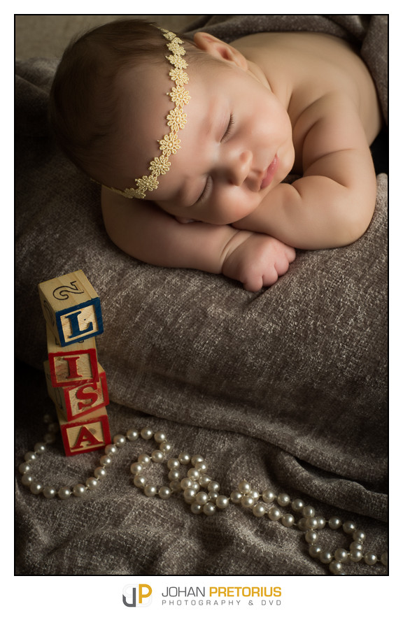 Lisa le Roux baby-Daughter of Olie le Roux