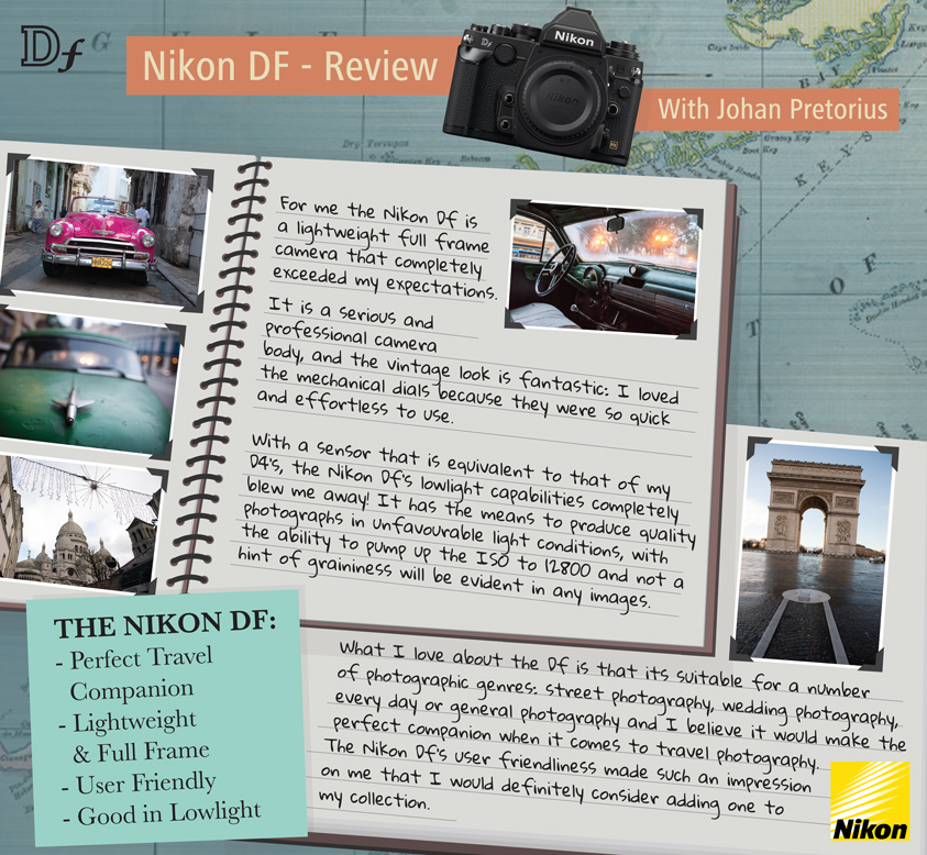 Nikon df mini review by Johan Pretorius