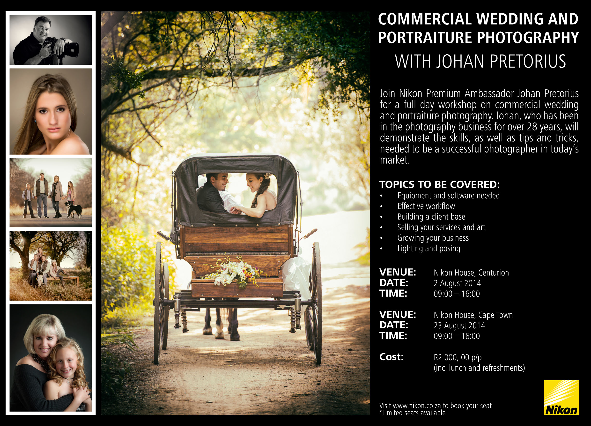 Workshop for photographers