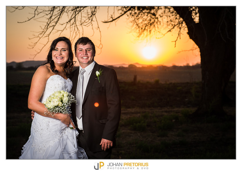The wedding of  Louise & Theunis Cilliers