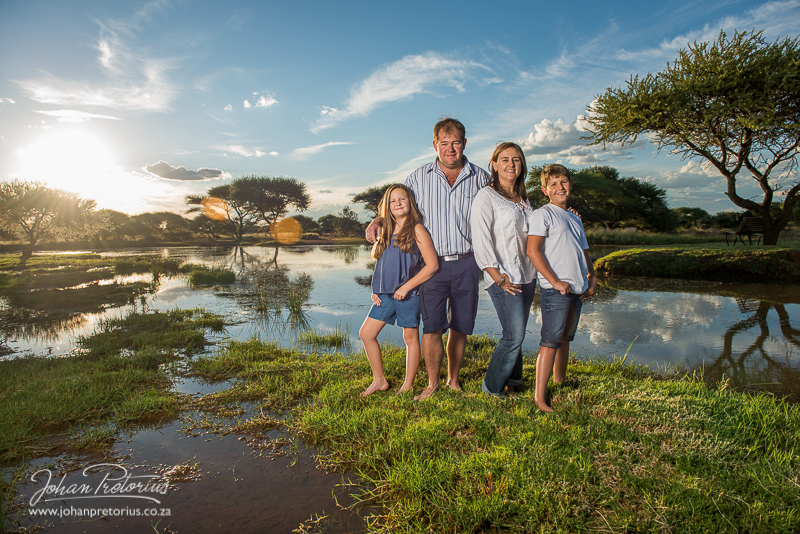 The le Roux family-Bloemfontein Photographer Johan Pretorius