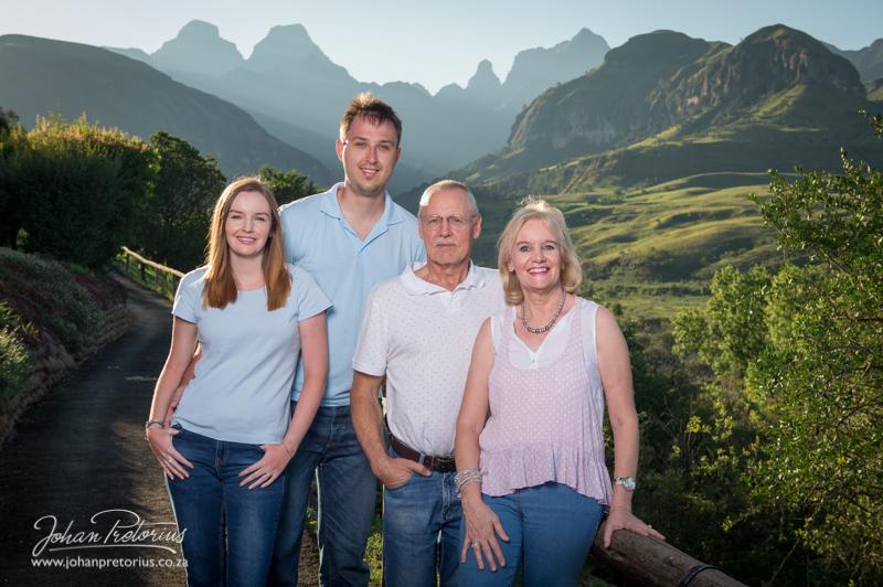 Van Der Riet Family