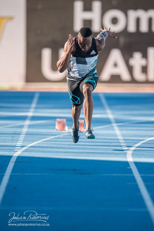 Akin Simbine, 100 & 200 meters SA Champ
