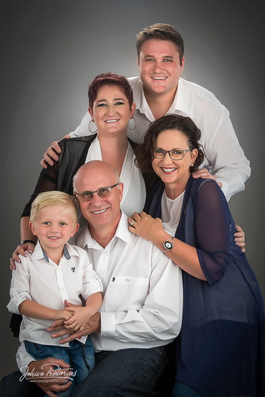 Fouche Family by Bloemfontein Photographer Johan Pretorius