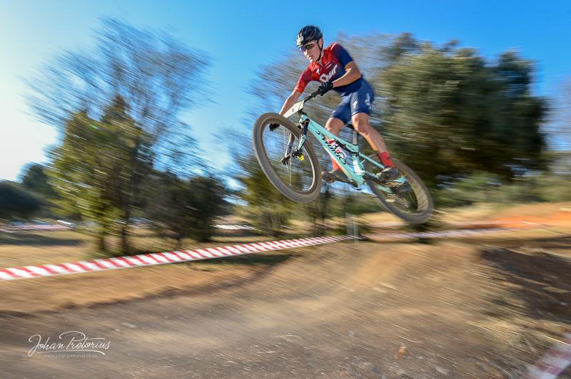 SA MTB XCO Championships by Bloemfontein photographer Johan Pretorius