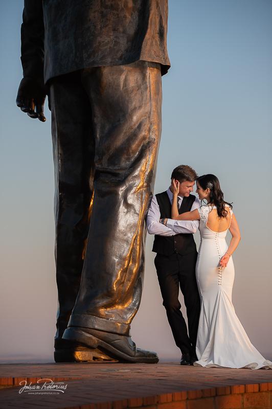 Stefan & Marinda by Bloemfontein wedding photographer Johan Pretorius