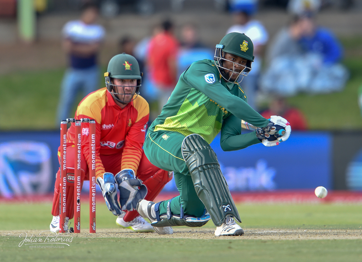 ODI-South Africa vs Zimbabwe by Bloemfontein Photographer Johan Pretorius