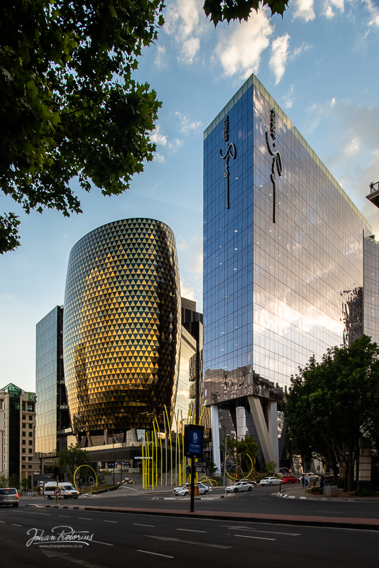 """The Mark Building"" in Sandton, Johannesburg by Bloemfontein photographer Johan Pretorius"
