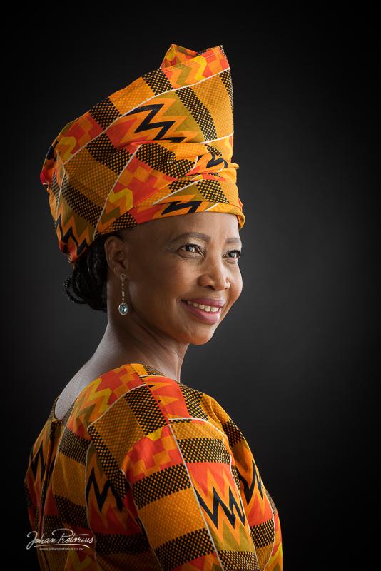 Nondwe Matanzima by Bloemfontein portrait photographer Johan Pretorius